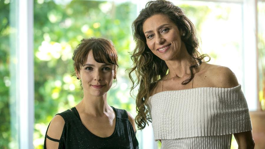 """Debora Falabella e Maria Fernanda Cândido em """"A Força do Querer"""" - Divulgação/Globo"""