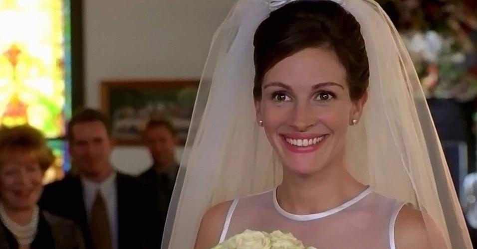 Cena do filme ?Noiva em Fuga? (1999), de Garry Marshall
