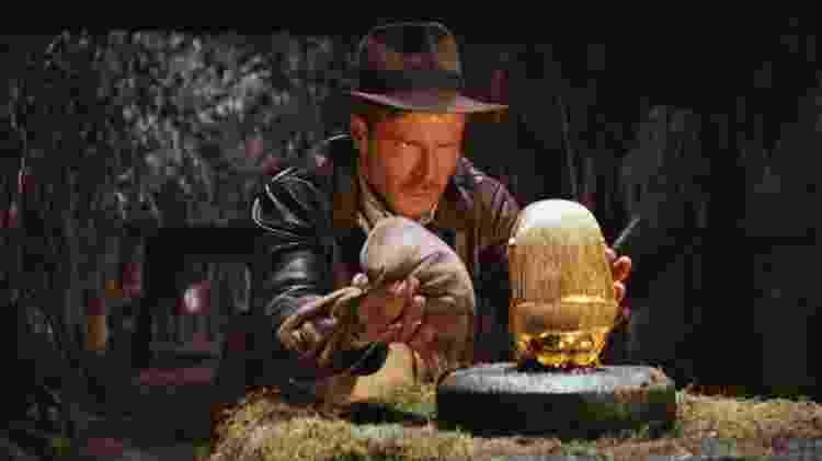 """Cena de """"Indiana Jones e Os Caçadores da Arca Perdida"""" (1981), de Steven Spielberg - Reprodução - Reprodução"""