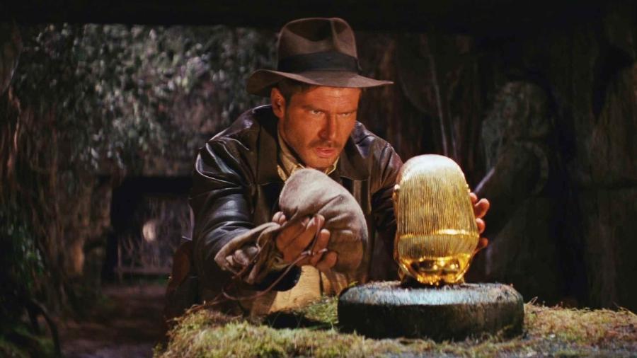 """Cena de """"Indiana Jones e Os Caçadores da Arca Perdida"""", de Steven Spielberg - Reprodução"""