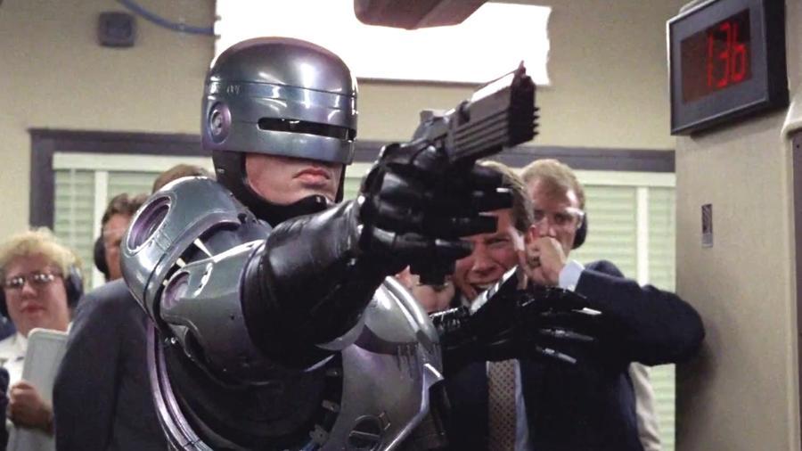 """Cena de """"RoboCop - O Policial do Futuro"""" - Reprodução"""