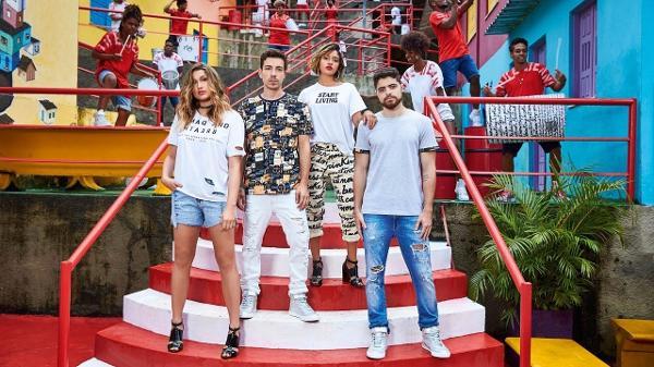 4122b563d Campanha de verão da Coca-Cola Jeans tem Sasha, Di Ferrero, Carol Oliveira,  DJ Lux e grupo Quabales Imagem: Divulgação