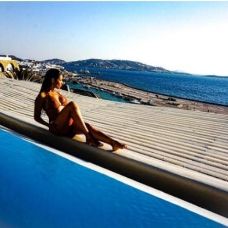 Simaria curte férias na Grécia - Reprodução/Instagram/simaria