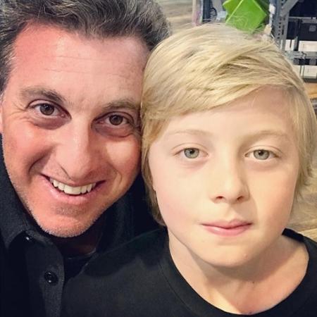 Luciano Huck presta homenagem ao filho  - Reprodução/Instagram
