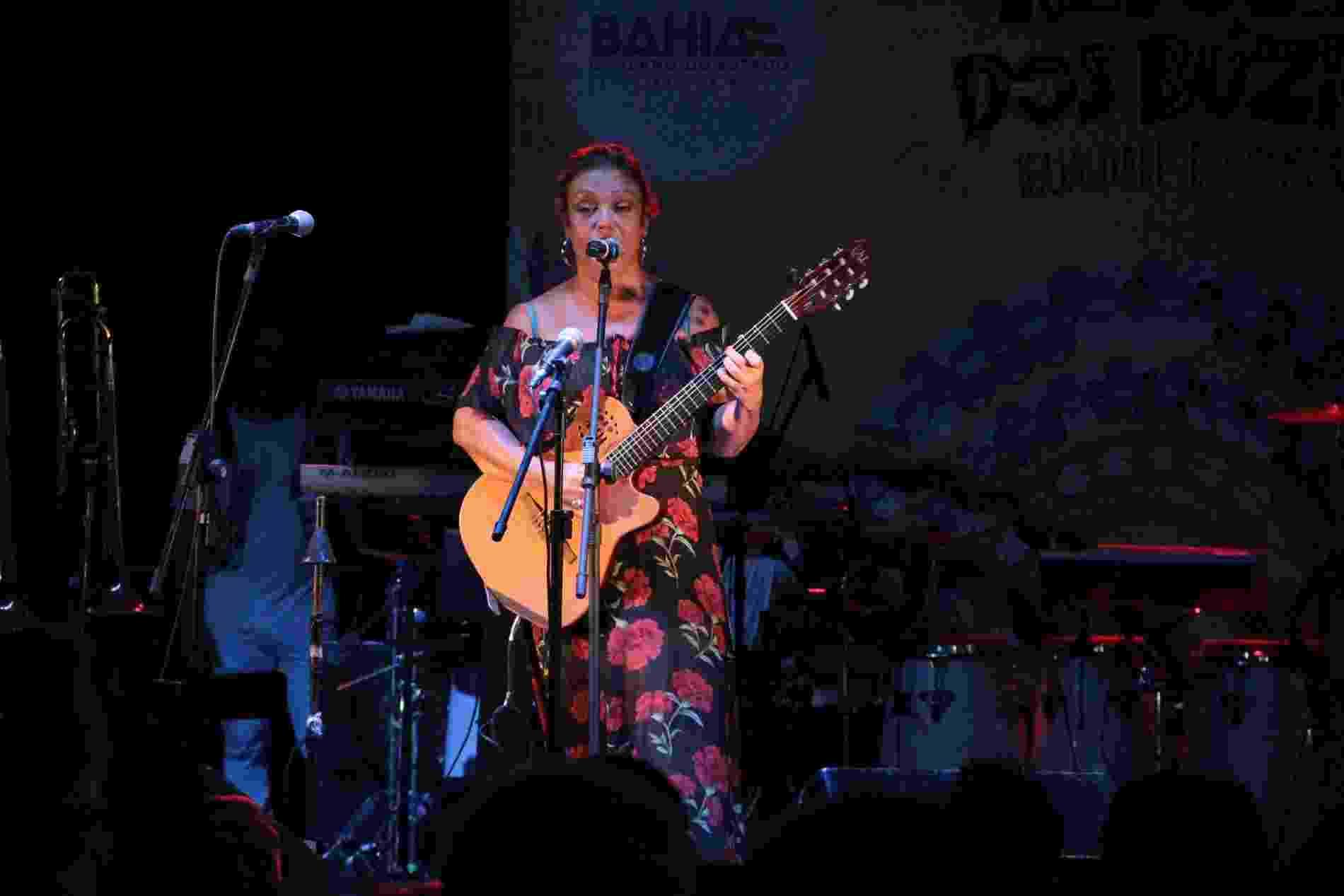 Mônica Sangalo, irmã de Ivete Sangalo, se apresenta no Pelourinho, em Salvador - Jc Pereira e Thiago Martins/AgNews