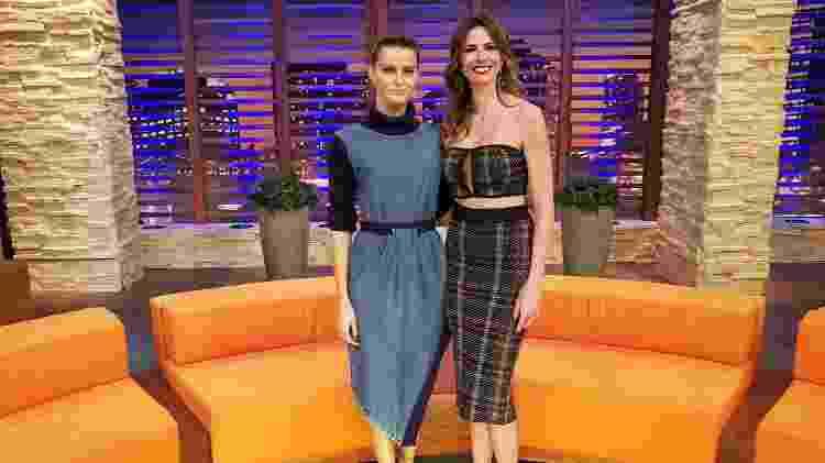 """Isabeli Fontana é convidada do """"Luciana By Night"""", de Luciana Gimenez - Divulgação / Rede TV! - Divulgação / Rede TV!"""