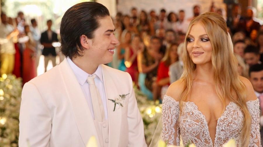 Whindersson Nunes e Luísa Sonza se casaram em São Miguel dos Milagres, litoral de Alagoas - Manuela Scarpa/Brazil News