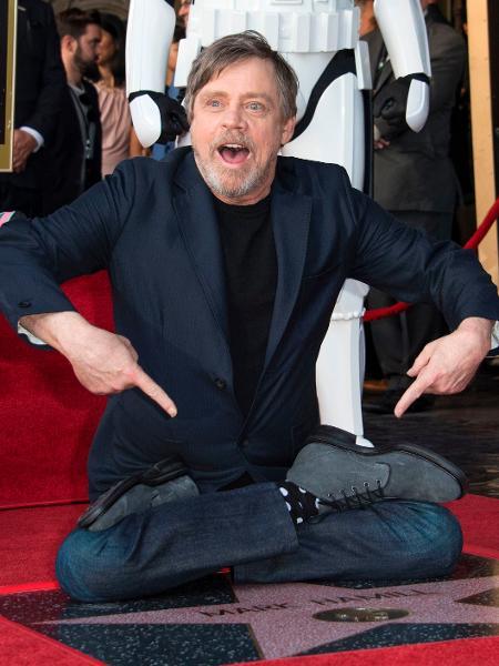 Mark Hamill ganha estrela na Calçada da Fama de Hollywood - Valerie Macon/AFP Photo