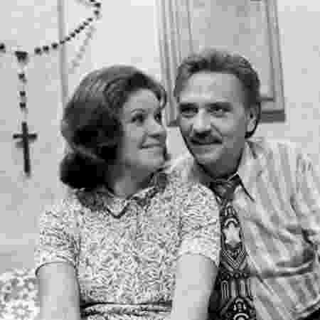 """Eloísa Mafalda e Jorge Dória interpretaram Dona Nenê e Lineu na primeira versão de """"A Grande Família"""" (1972) - Divulgação/Globo - Divulgação/Globo"""