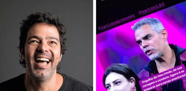 Bruno Mazzeo apoia participação do irmão Nizo no Power Couple