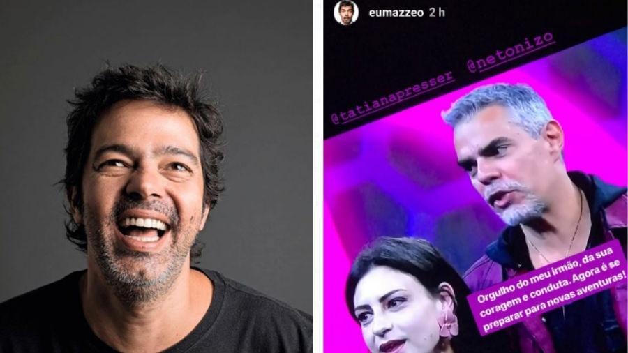 Bruno Mazzeo apoia participação do irmão Nizo no Power Couple - Reprodução/Instagram