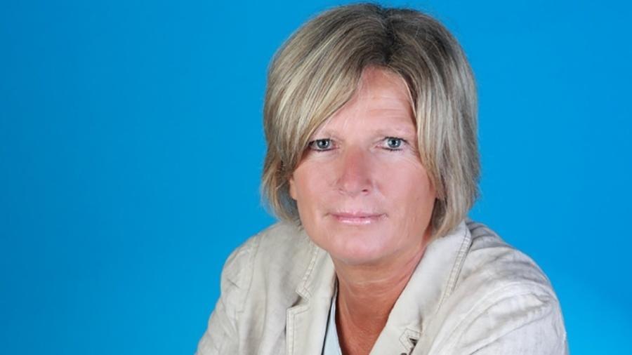 Claudia Neumann é a primeira mulher a narrar jogos da Copa na TV alemã - Divulgação/ZDF