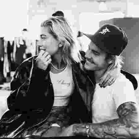 Hailey Baldwin e o noivo, Justin Bieber - Reprodução/Instagram/justinbieber - Reprodução/Instagram/justinbieber