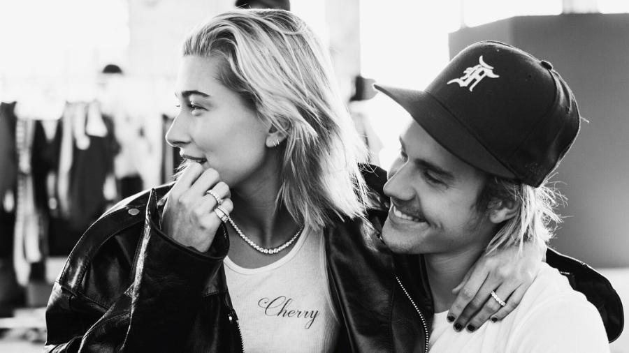 Hailey Baldwin e o noivo, Justin Bieber - Reprodução/Instagram/justinbieber