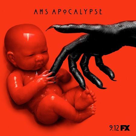 """Imagem de divulgação da nova temporada de """"American Horror Story"""", """"Apocalypse"""" - Reprodução/Twitter"""