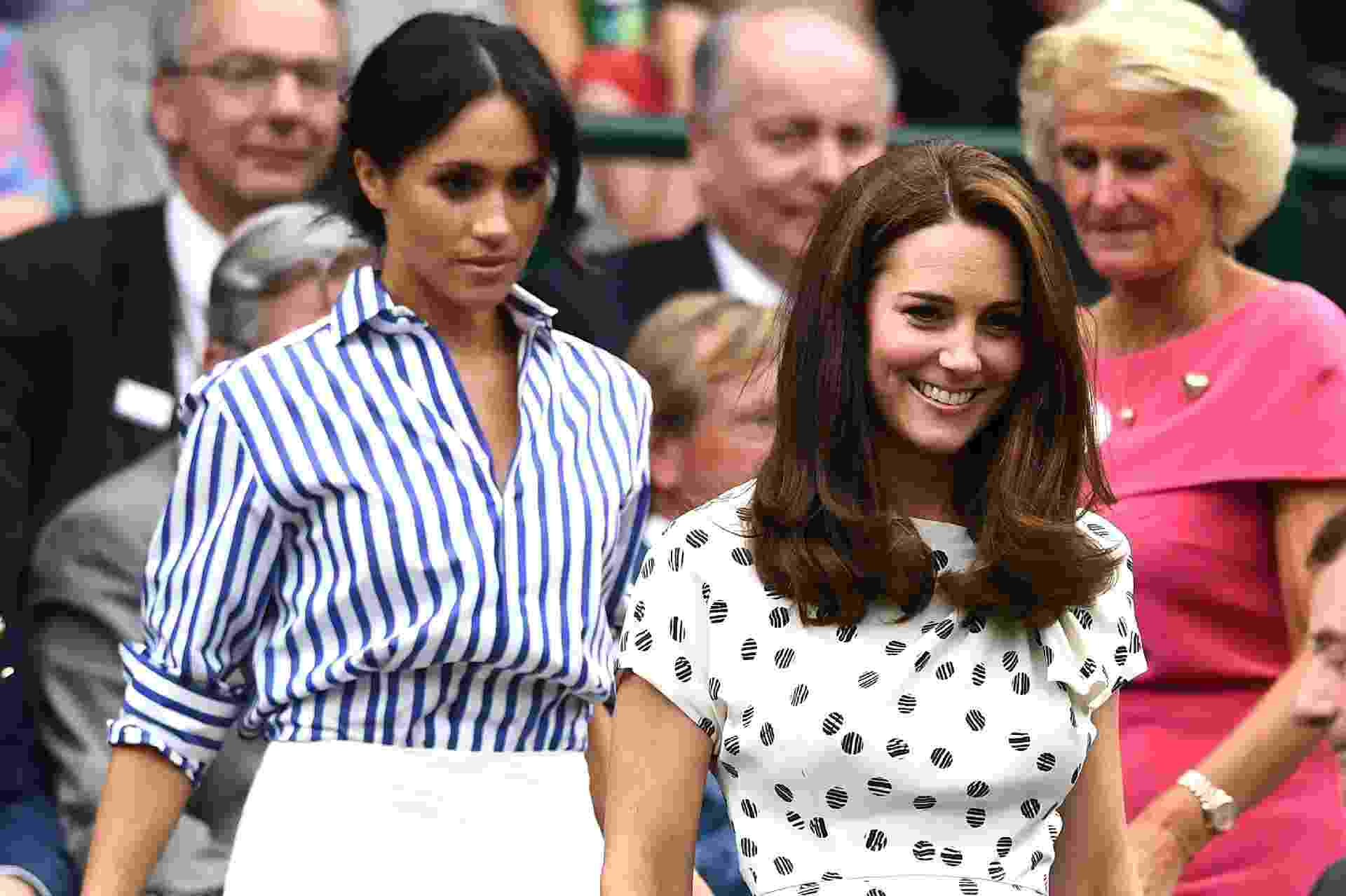 Kate Middleton e Meghan Markle - Getty Images