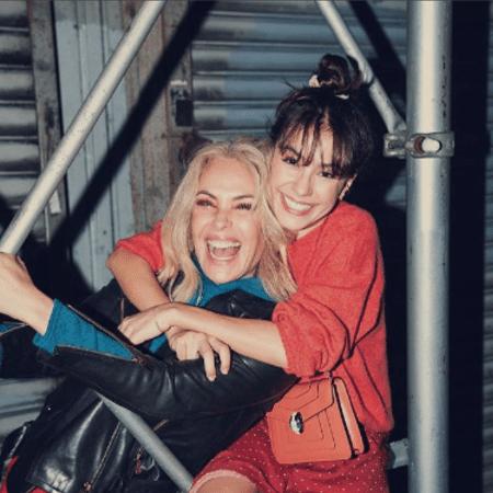 Carolina Ferraz e Valentina - Reprodução/Instagram
