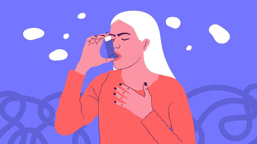 Poluição, pelos de animais, cheiro forte, emoções intensas e até atividade física podem desencadear os sintomas da asma - Camila Rosa/VivaBem
