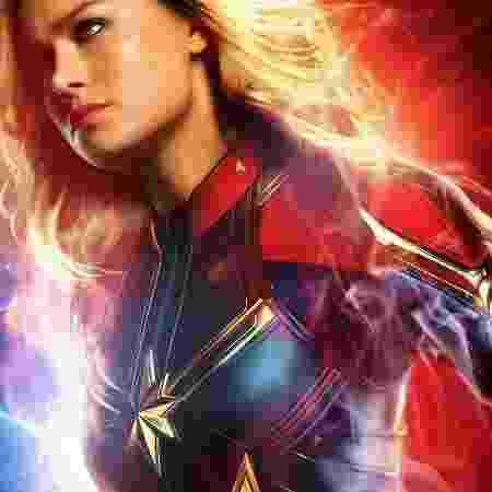 """Brie Larson como """"Capitã Marvel"""". Filme chega aos cinemas brasileiros em 7 de março - Divulgação - Divulgação"""