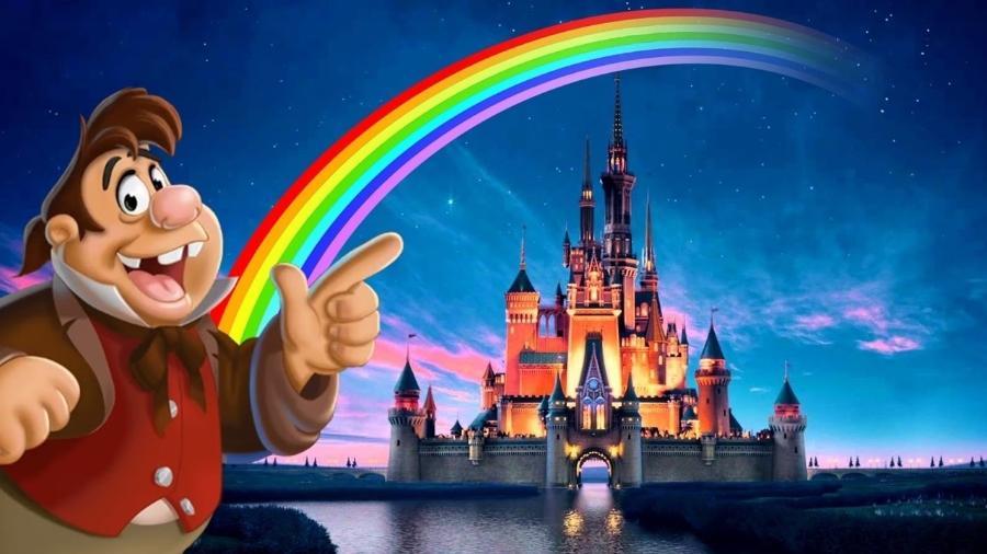 LeFou, o fiel escudeiro de Gaston, de ?A Bela e a Fera?, foi o primeiro personagem LGBTQ+ dos estúdios Disney - Reprodução
