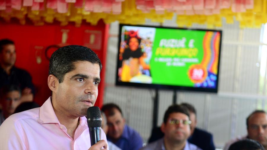 Prefeito ACM Neto durante lançamento oficial do Carnaval de Salvador - Valter Pontes/Secom