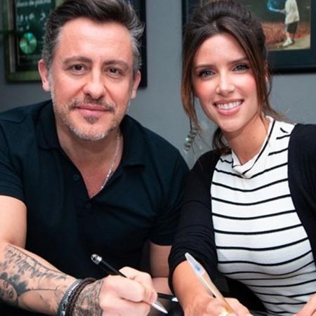 Rick Bonadio está produzindo as novas músicas da cantora Thabata - Divulgação