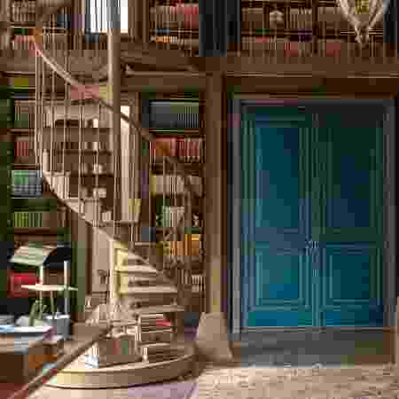 A biblioteca de Atílio - Globo/Ellen Soares - Globo/Ellen Soares