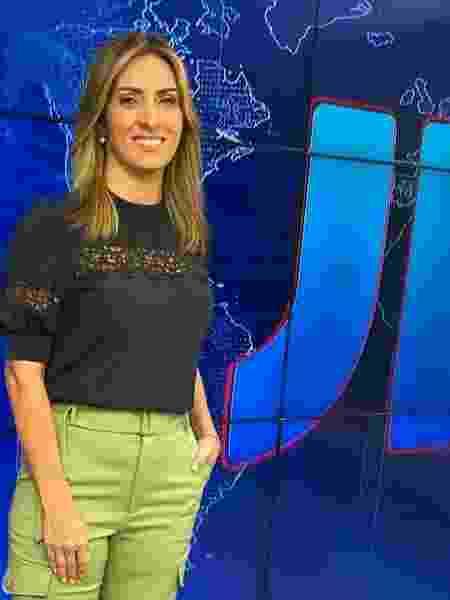 Lídia Pace representa o Rio Grande do Norte na apresentação do JN 50 Anos  - Divulgação TV Globo