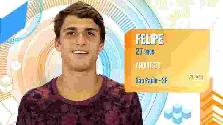 Felipe - Reprodução/TV Globo - Reprodução/TV Globo
