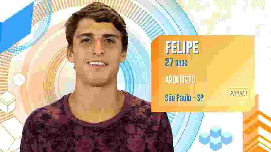Felipe Prior, participante do BBB20 - Divulgação/TV Globo
