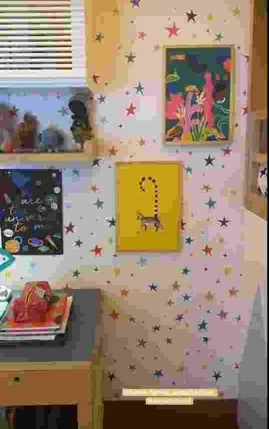 Giovanna Ewbank mostra detalhes do quarto de Zyan e Bless - Reprodução/Instagram