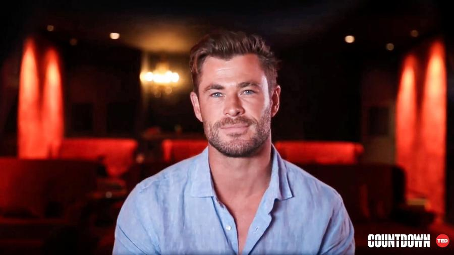 Chris Hemsworth no Countdown, evento do TED - TED