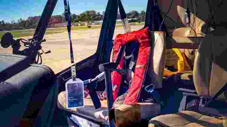 João Guilherme Ferreira Alves brasileiro piloto helicóptero navio tombado EUA MV Golden Ray 4.000 carros - Arquivo pessoal - Arquivo pessoal
