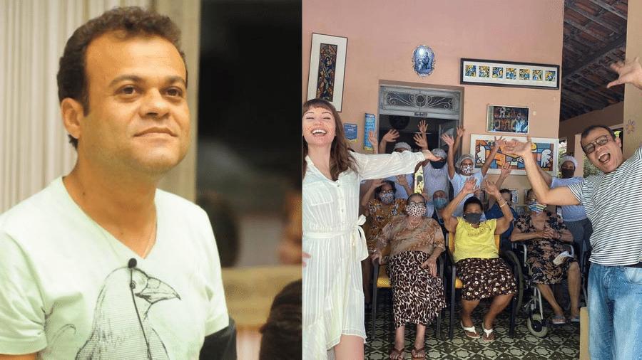 Daniel Rolim fundou abrigo para idosos há 26 anos - Reprodução/Instagram