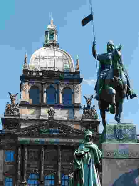 Estátua de São Venceslau  - De Agostini via Getty Images - De Agostini via Getty Images