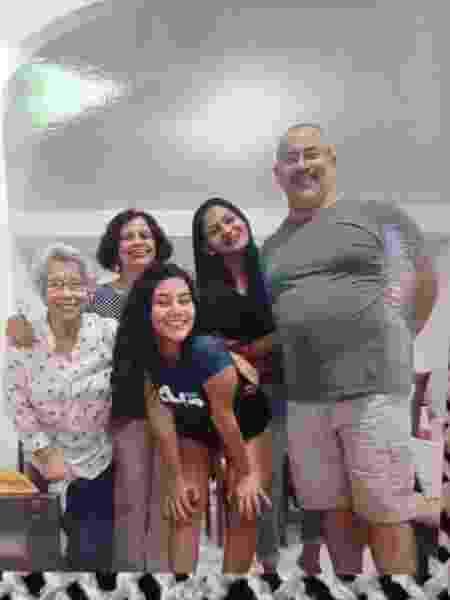 Última foto de Alexandre com a família, no natal de 2020 - Arquivo pessoal - Arquivo pessoal