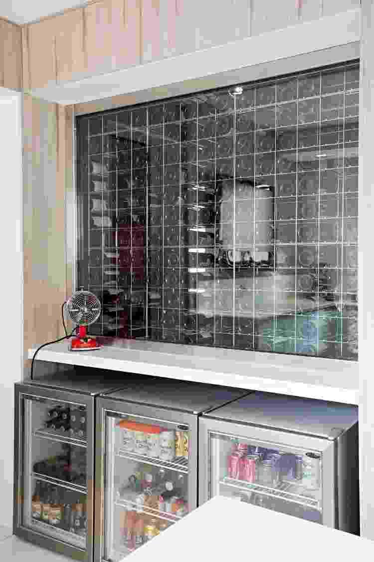 Projeto de adega feito por Ieda e Carina Korman, do Korman Arquitetos - Gui Morelli - Gui Morelli
