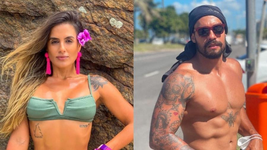 """No Limite: Internautas """"shippam"""" Carol Peixinho e Arcrebiano - Reprodução/Instagram"""
