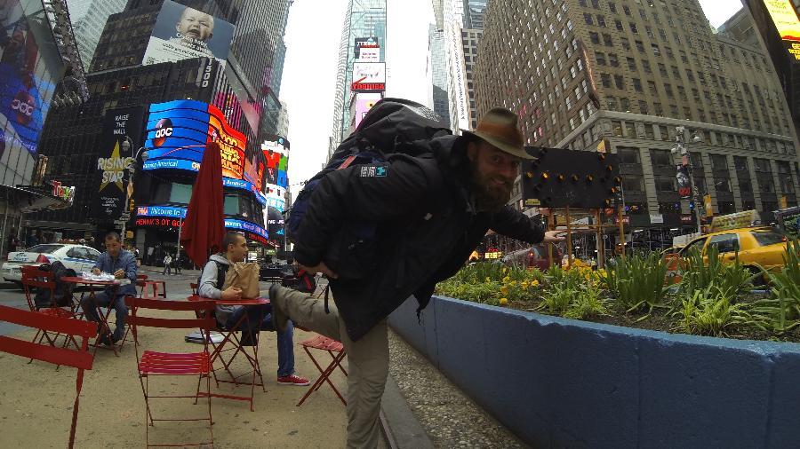 Thor em Nova York, Estados Unidos - Arquivo pessoal