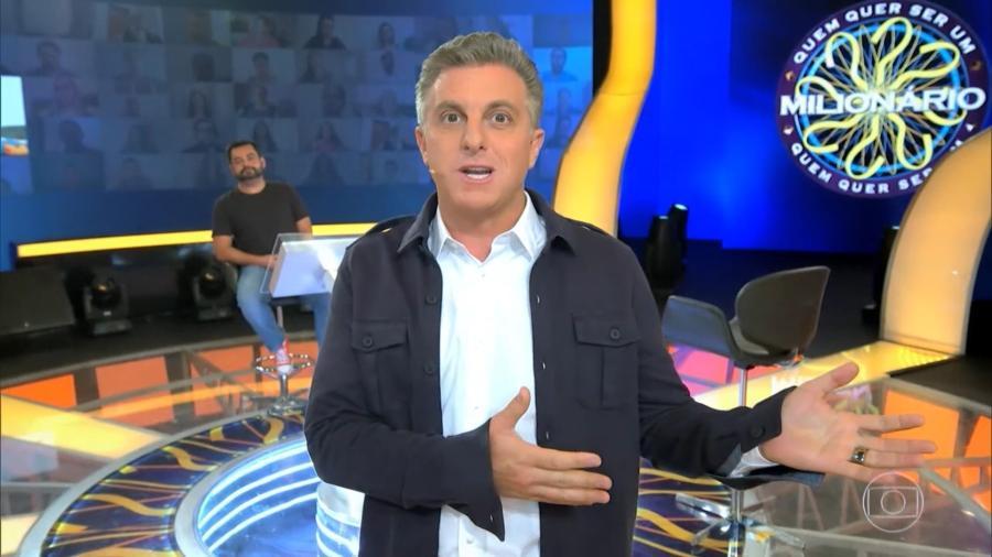 Luciano Huck disse nunca ter se lançado candidato, mas acredita na TV e defende reportagens com cunho social - Reprodução/TV Globo
