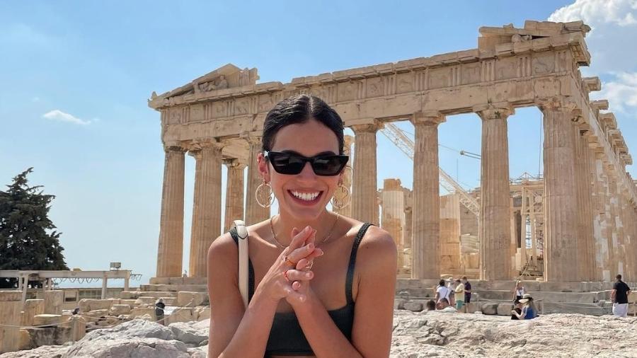 Bruna Marquezine visitou a Acrópole de Atenas em viagem à Grécia  - Reprodução/Instagram