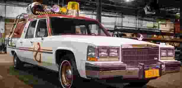 """Carro oficial do novo """"Os Caça-Fantasmas"""" revelado pelo diretor Paul Feig - Reprodução/Twitter"""