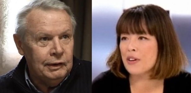 Os jornalistas Eric Laurent e Catherine Graciet foram indiciados por suposta chantagem  - Reprodução / TV5Monde