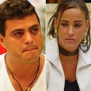 Os ex-BBBs Dhomini e Juliana tentaram a carreira artística - Reprodução/TV Globo