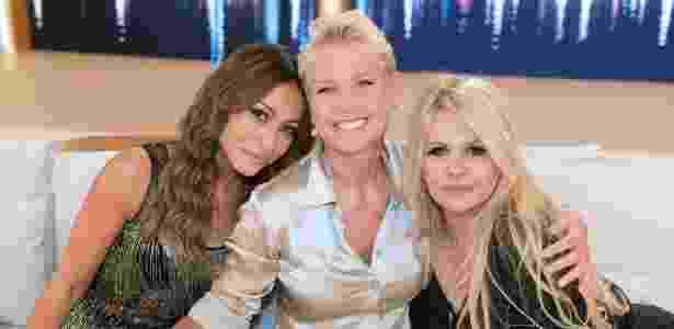 Sabrina Sato e Monique Evans participam do programa da Xuxa - Blad Meneghel/Divulgação - Blad Meneghel/Divulgação