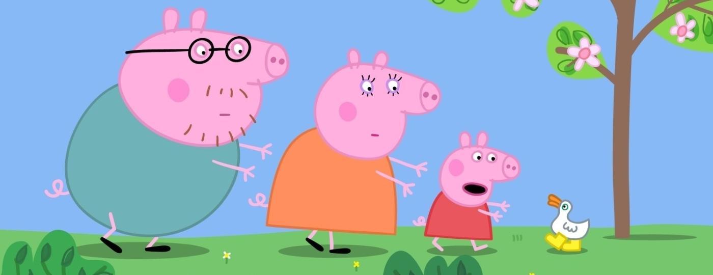"""Cena do filme """"Peppa Pig - As Botas de Ouro e Outras Histórias"""" - Divulgação"""