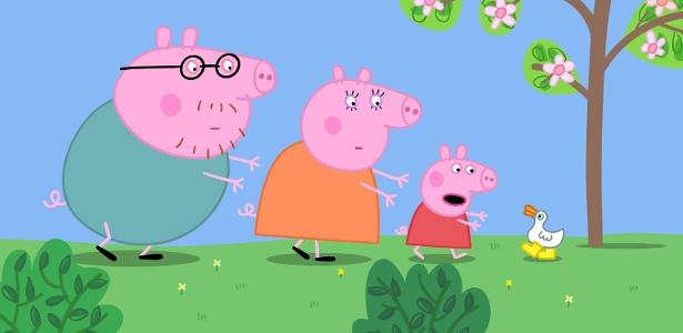 "Cena do filme ""Peppa Pig - As Botas de Ouro e Outras Histórias"""