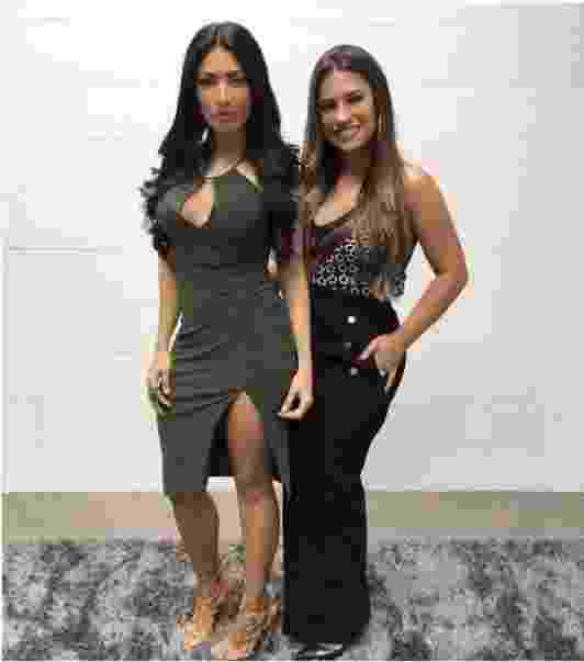 Simone e Simaria abusam de looks sensuais em shows - Reprodução/ Instagram/ @simoneesimaria