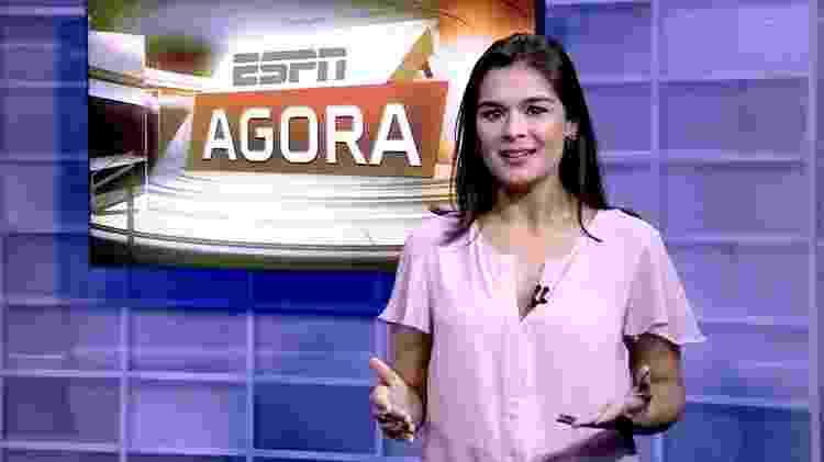 """Marcela Rafael apresenta o """"ESPN Agora"""" - Divulgação  - Divulgação"""