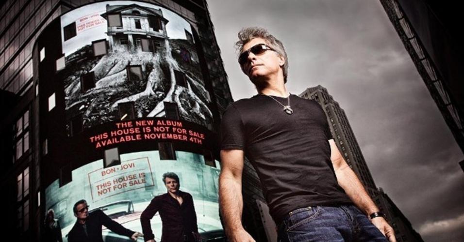 Bon Jovi posa no Instagram